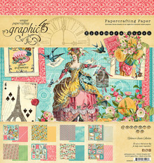 Graphic 45 Ephemera Queen 8x8 Inch Paper Pad (4502103)