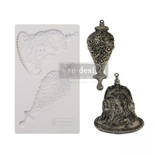 Re-Design Silver Bells 5x8 Inch Decor Mould (646141)