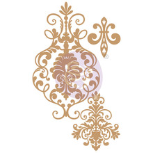 Prima Marketing Inc Elegant Damask Chipboard Diecut (647315)