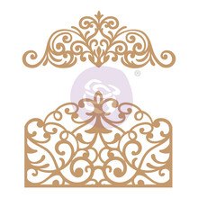 Prima Marketing Inc Flourish Gate Chipboard Diecut (647339)