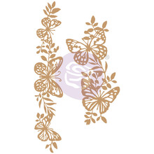 Prima Marketing Inc Butterfly Borders Chipboard Diecut (647384)