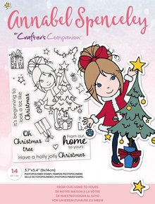Crafter's Companion Annabel Spenceley From Our Home To Yours Clear Stamps (AS-STP-FROURS)