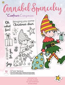 Crafter's Companion Annabel Spenceley Oh What Fun! Clear Stamps (AS-STP-OHWFUN)