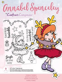 Crafter's Companion Annabel Spenceley Twinkle Twinkle Clear Stamps (AS-STP-TWIKLE)
