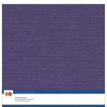 Card Deco Linen Cardstock Purple 10 Vel 30,5x30,5 cm (LKK-SC35)