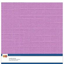 Card Deco Linen Cardstock Fuchsia 10 Vel 30,5x30,5 cm (LKK-SC37)
