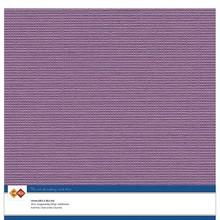 Card Deco Linen Cardstock Eggplant 10 Vel 30,5x30,5 cm (LKK-SC38)