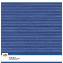 Card Deco Linen Cardstock Ultramarine 10 Vel 30,5x30,5 cm (LKK-SC39)