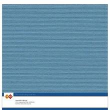 Card Deco Linen Cardstock Turquoise 10 Vel 30,5x30,5 cm (LKK-SC40)