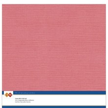 Card Deco Linen Cardstock Flamingo 10 Vel 30,5x30,5 cm (LKK-SC42)