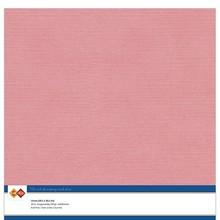 Card Deco Linen Cardstock Old Pink 10 Vel 30,5x30,5 cm (LKK-SC43)