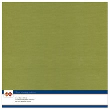 Card Deco Linen Cardstock Olive Green 10 Vel 30,5x30,5 cm (LKK-SC46)