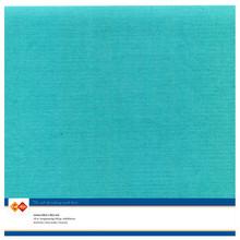 Card Deco Linen Cardstock Emerald 10 Vel 30,5x30,5 cm (LKK-SC48)