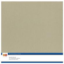 Card Deco Linen Cardstock Taupe 10 Vel 30,5x30,5 cm (LKK-SC53)