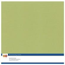 Card Deco Linen Cardstock Avocado Green 10 Vel 30,5x30,5 cm (LKK-SC54)