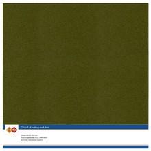 Card Deco Linen Cardstock Pine Green 10 Vel 30,5x30,5 cm (LKK-SC55)