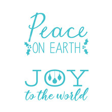 Simply Creative Peace on Earth Clear Stamps (SCSTP026X20)