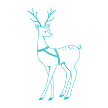Simply Creative Deer Clear Stamps (SCSTP031X20)
