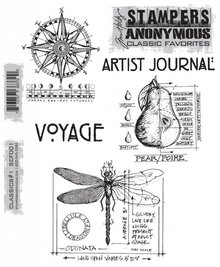 Stampers Anonimous Cling Stamps Classics #1 (SCF001)