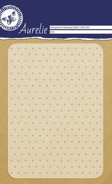 Aurelie Dots Background Embossing Folder (AUEF1001)