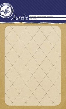 Aurelie Little Stitches Background Embossing Folder (AUEF1005)