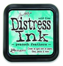 Ranger Distress Ink Pad Peacock Feathers (TIM34933)