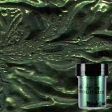 Lindy's Stamp Gang Midnight Emerald Obsidian Embossing Powder (ep-049)