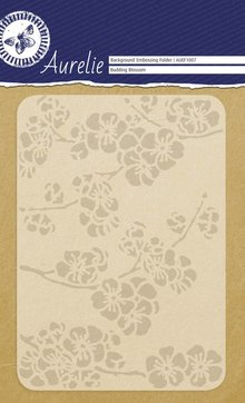 Aurelie Budding Blossom Background Embossing Folder (AUEF1007)