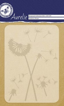 Aurelie Dandelion Whisper Background Embossing Folder (AUEF1008)