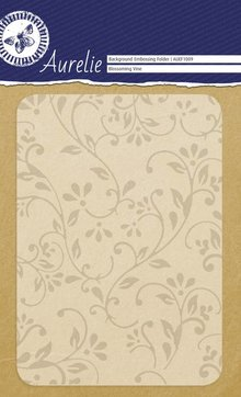 Aurelie Blossoming Vine Background Embossing Folder (AUEF1009)