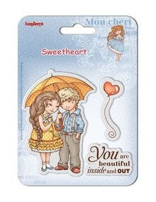 ScrapBerry's Clear Stamps 10,5x10,5 cm Sweetheart No. 1 (SCB4907004B)