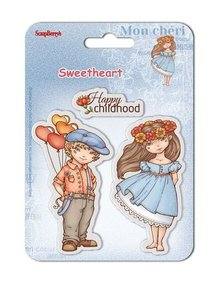 ScrapBerry's Clear Stamps 10,5x10,5 cm Sweetheart No. 2 (SCB4907005B)