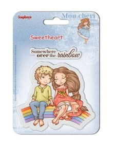 ScrapBerry's Clear Stamps 10,5x10,5 cm Sweetheart No. 4 (SCB4907007B)