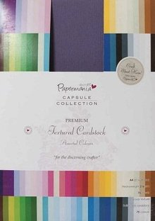 Papermania A6 Capsule Textured Cardstock Colossal (PMA 1641402)