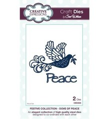 Creative Expressions Festive Collection Dove Of Peace Craft Dies (CED3035)