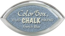 ClearSnap ColorBox Cat's Eye Fluid Chalk Ink Pad French Blue (71425)