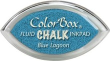 ClearSnap ColorBox Cat's Eye Fluid Chalk Ink Pad Blue Lagoon (71408)