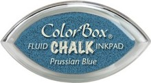 ClearSnap ColorBox Cat's Eye Fluid Chalk Ink Pad Prussian Blue (71407)