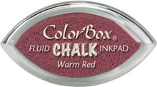 ClearSnap ColorBox Cat's Eye Fluid Chalk Ink Pad Warm Red (71417)