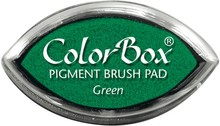 ClearSnap ColorBox Cat's Eye Pigment Brush Pad Green (11021)