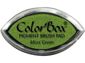 ClearSnap ColorBox Cat's Eye Pigment Brush Pad Moss Green (11062)