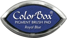 ClearSnap ColorBox Cat's Eye Pigment Brush Pad Royal Blue (11018)