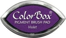 ClearSnap ColorBox Cat's Eye Pigment Brush Pad Violet (11017)