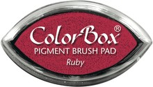 ClearSnap ColorBox Cat's Eye Pigment Brush Pad Ruby (11074)