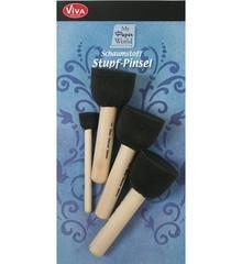 Viva Decor Sponge Brushes Set (9300 004 00)