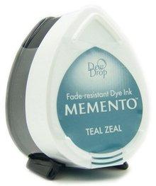 Tsukineko Memento Teal Zeal Dye Ink Dew Drop (MD-602)