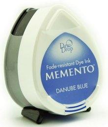 Tsukineko Memento Danube Blue Dye Ink Dew Drop (MD-600)