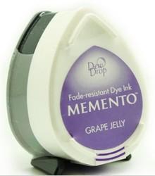 Tsukineko Memento Grape Jelly Dye Ink Dew Drop (MD-500)