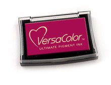 Tsukineko VersaColor Raspberry Ultimate Pigment Ink Pad (VCI 156)