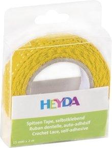Heyda Self-Adhesive Crochet Lace Geel (203584510)